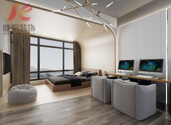 电竞酒店客房设计